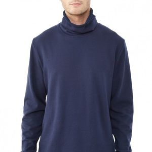 Alternative Apparel Navy Turtleneck Sweatshirt